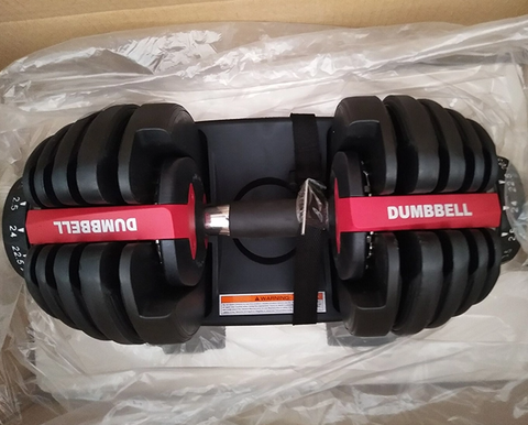 Adjustable Dumbells - 52 lbs each