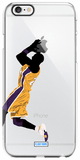 """Black Mamba"" iPhone Clear Case"