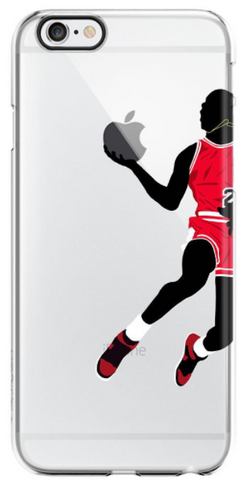 """Bulls"" iPhone Clear Case"