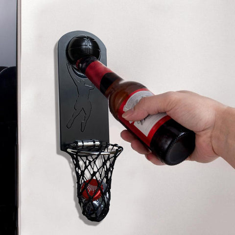 Basketball Hoop Bottle Opener
