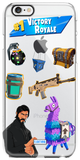 """Victory Royale"" iPhone Clear Case"