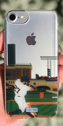 """Houston"" iPhone Clear Case"