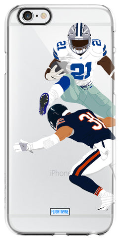 """Hurdle"" iPhone Clear Case"