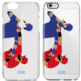 """""""Punch"""" iPhone Clear Case"""