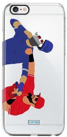 """Punch"" iPhone Clear Case"