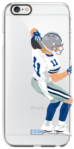 """Helmet Catch"" iPhone Clear Case"