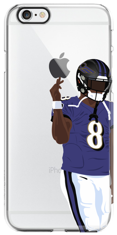 """Baltimore"" iPhone Clear Case"
