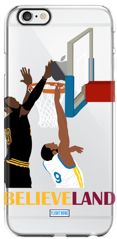 """The Block"" iPhone Clear Case"