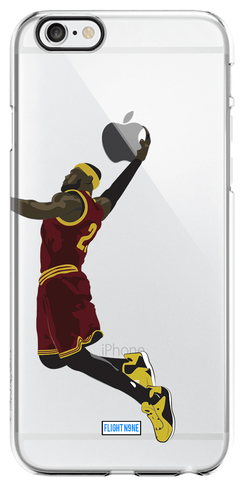"""The King"" iPhone Clear Case"
