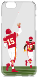 """KC"" iPhone Clear Case"