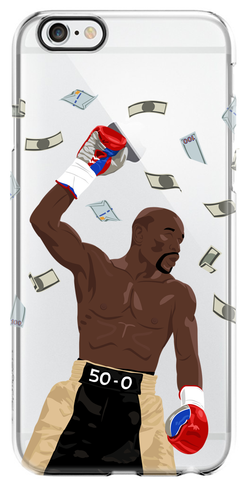 """Money Team"" iPhone Clear Case"