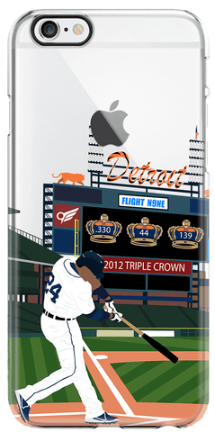 """Miggy"" iPhone Clear Case"