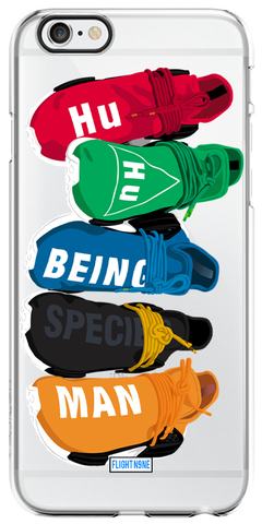 """Human Race"" iPhone Clear Case"