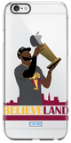 """Champs"" iPhone Clear Case"