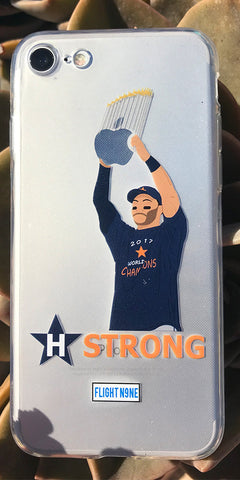 """WS Champs"" iPhone Clear Case"
