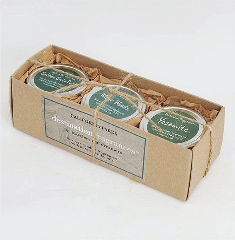 Travel Tin Candle Gift Box: California Parks