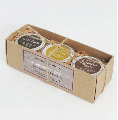 Travel Tin Gift Box: San Francisco Dining Destinations