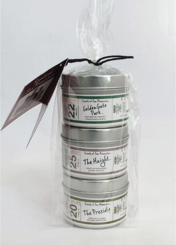 Travel Tin Candle Gift Pack