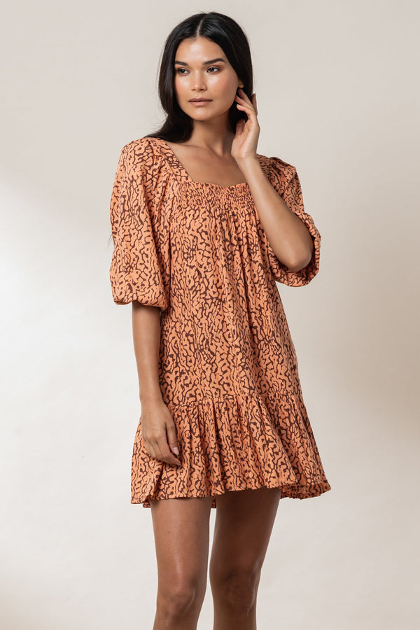 Rini Mini Dress - Ginger Haze
