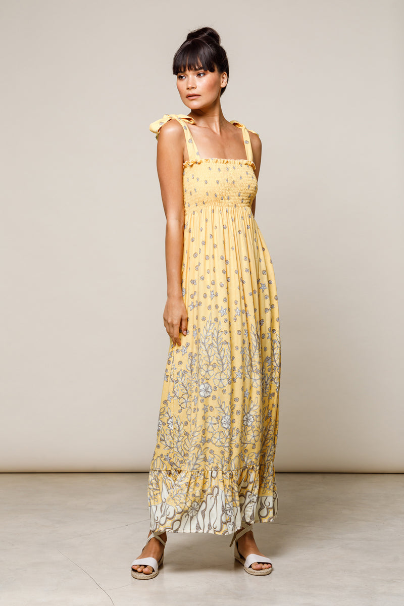 Lexi Maxi Dress - Butter