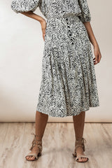 Cora Skirt - Ink Haze