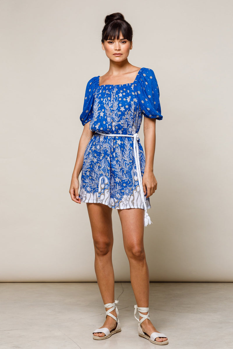 Billy Beach Dress Azure