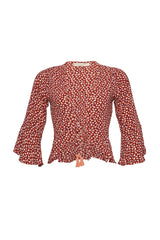 Wild Isla Top Rouge