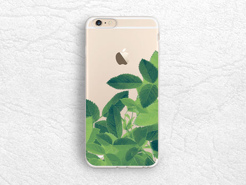 iPhone X Case, Tropical Leaves transparent Clear phone case for Nexus 6P, Google Pixel 2 XL, HTC one M9, LG G6, Nexus 5X, Samsung S8 Plus -A36
