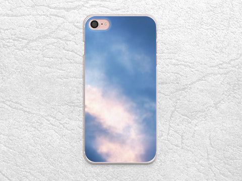 Purple Blue Sky phone case for iPhone 8 Plus, iPhone X, Google Pixel XL, Sony Xperia Z5, LG G5, Nexus 5X, Samsung S8, HTC One M9, Nexus 6P -X25