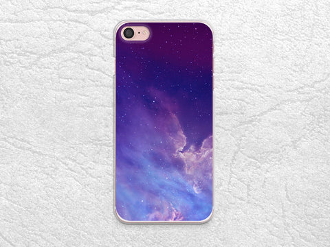 Purple Galaxy Sky phone case for iPhone X, iPhone 8 Plus, Google Pixel 2 XL, LG G6, Nexus 5X, Samsung S8, Note 8, HTC One M9, Nexus 6P -X26