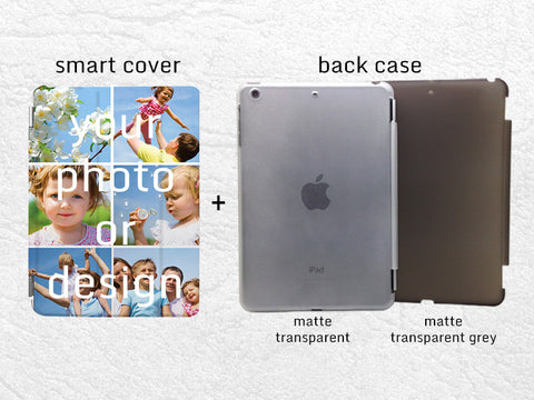Custom Photo Smart Cover, Personalized iPad Mini smart cover case, iPad Mini, iPad Mini 2 retina, iPad Mini 3 custom photo case