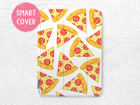 Pizza Slice Pattern Smart Cover for iPad Mini, iPad Mini 2 retina, iPad Mini 3, iPad Mini 4 tablet Cute Smart cover with back case -P89