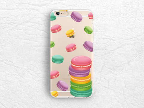 Colorful Macaroon clear transparent case for iPhone 7 Plus, Samsung S7 Edge, Sony Xperia XZ, LG G5, Nexus 5X, Google Pixel, HTC One M9 -A54