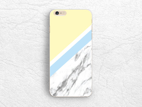 Pastel Yellow Marble print phone case for iPhone X, iPhone 7, iPhone 8 Plus, Samsung S8 Plus, Samsung Note 8, Google Pixel XL, Nexus 5X -X17