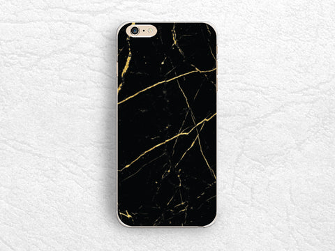 Black X Gold Marble Print phone case for iPhone X, iPhone 8 Plus, Sony Z5 compact, Samsung S8 Plus, Note 8, LG G6, Nexus 5X, Google pixel -X21