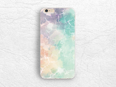 Pastel Color Marble Print phone case for iPhone X, iPhone 7 Plus, Google Pixel 2 XL, Samsung S8, Note 5, LG G6, Nexus 5X, Nexus 6P -X22