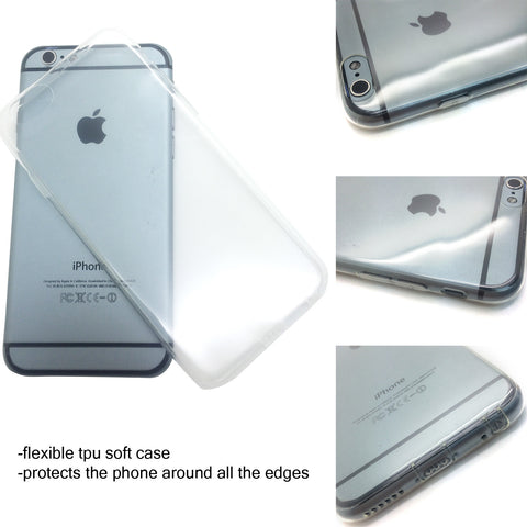 Materials - Clear Soft Rubber Case