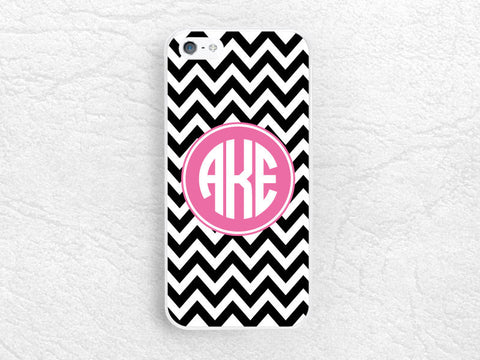 Chevron Monogram initial phone case for Sony z1 z2 z3 compact, Moto g g2 x x2, HTC one m7 m8, Nokia lumia personalized custom name zig zag