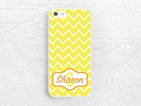 Chevron Monogram Phone Case for iPhone, Sony z1 z3 compact, LG g2 g3 nexus 5, Nokia lumia Monogram Case - Custom made with personalized name