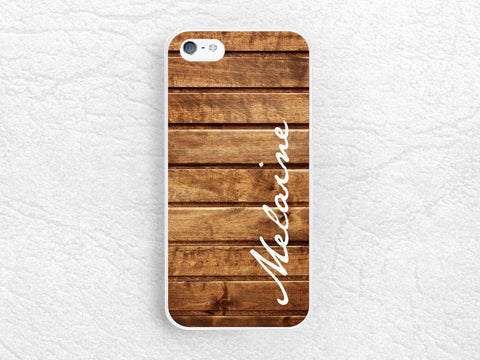 Custom Name wood print Phone Case for iPhone 6 iPhone 5 5s 5c, Sony z1 z2 z3, LG g2 g3 nexus 6, Moto X Moto G, personalized wood print cover