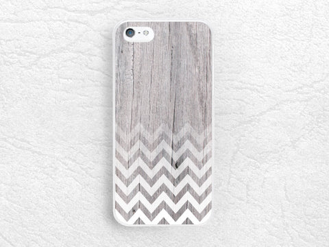 iPhone 6 iPhone Geometric Chevron wood print phone case, Sony z1 z2 z3 compact, LG g3 g2, HTC one m7 m8, Ombre white zigzag phone cover -G18