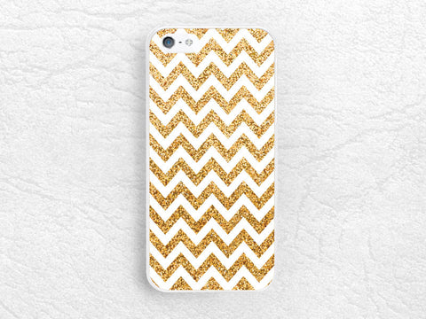Gold Glitter print Chevron phone case for iPhone 6 iPhone 5 5c, Sony z1 z2 z3, LG g2 g3 nexus 6, HTC one m7 m8, Moto x Moto g, Nokia 520 -P4