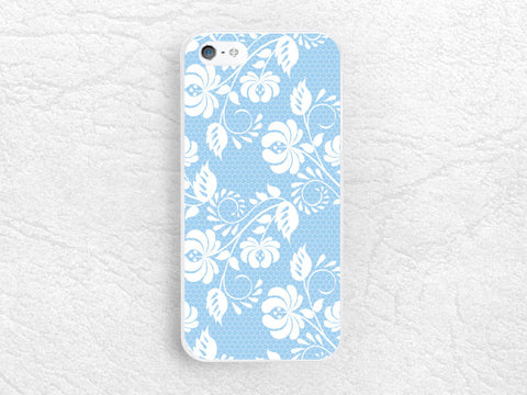 Floral flower pattern Phone Case for iPhone, Sony z1 z2 z3 compact, LG g2 g3 nexus 6, HTC one m7 m8, Moto x Moto g, elegant lace cover -P9