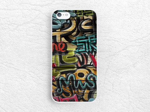 Colorful Graffiti Wood print Phone Case for iPhone 6, Sony z1 z2 z3 compact, LG g3 g2, HTC one m7 m8, Moto g Moto x, unique stylish case -S7