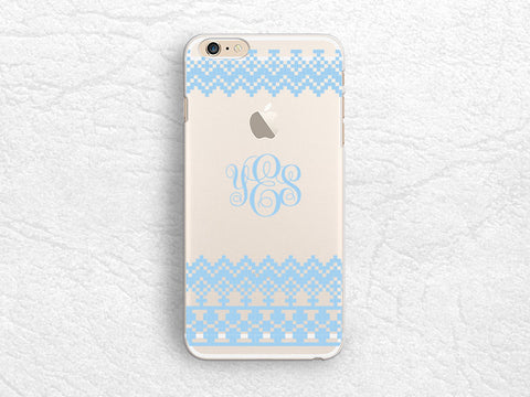Lace pattern Personalized transparent clear phone case for iPhone 6, iPhone 5 5s, LG G3, Sony z3, HTC One m8, Monogrammed clear phone cover