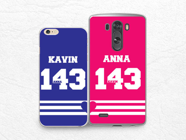 promo code b307f c008f Set for two, Couple case Personalized phone case for iPhone 6, Sony z3  compact, LG g3 g2, HTC one m7 m8, Moto X Moto G, Valentines case