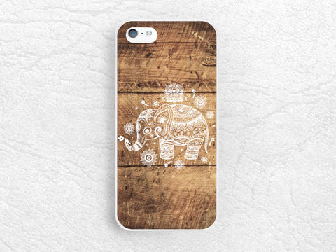 Aztec Elephant Wood print Phone Case for iPhone 6, Sony z1 z3 compact, LG g3 g2, Moto x Moto g, HTC one m7 m8, tribal style henna case -G20