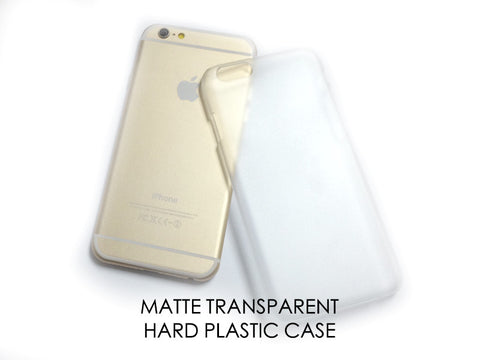 Materials - Matte Hard Plastic Case