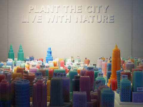 """Plant the City"" Candle Workshop, for Kiehl's"