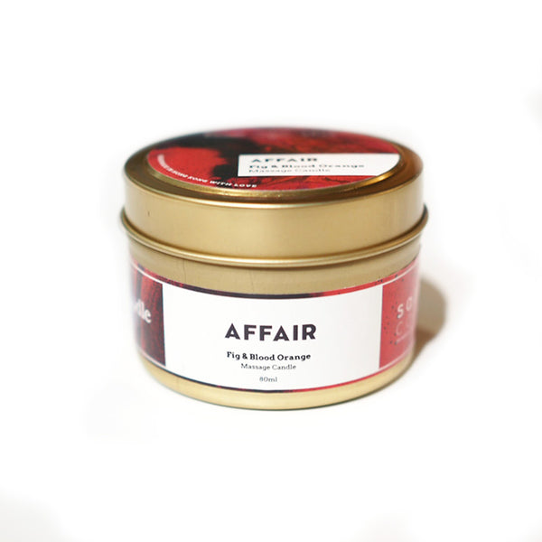 Sally Coco X BeCandle Massage candle - Affair